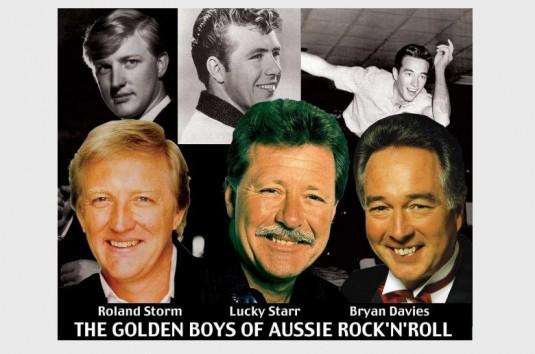 THE GOLDEN BOYS OF AUSSIE ROCK'N'ROLL