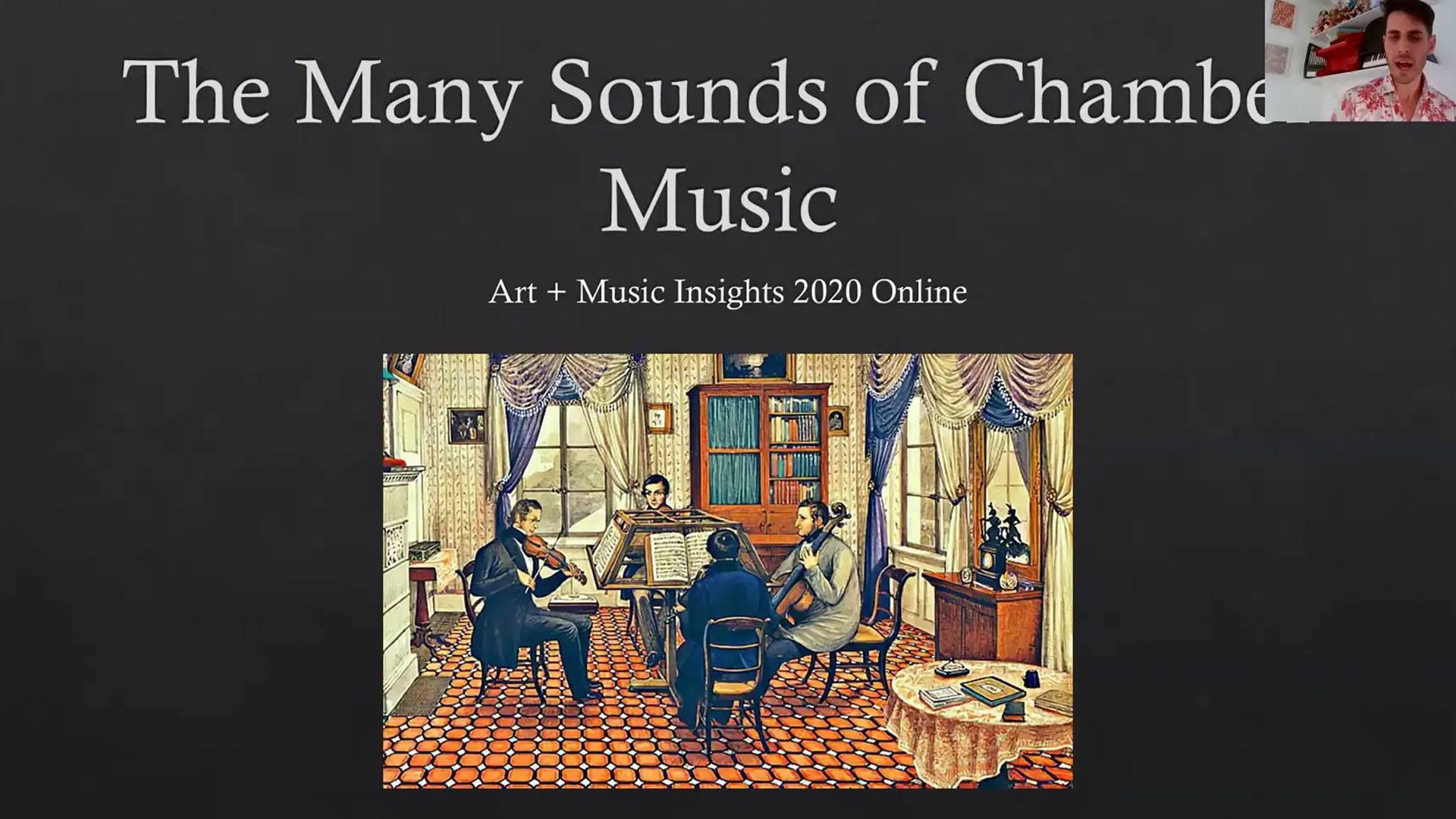The Many Sounds of Chamber Music