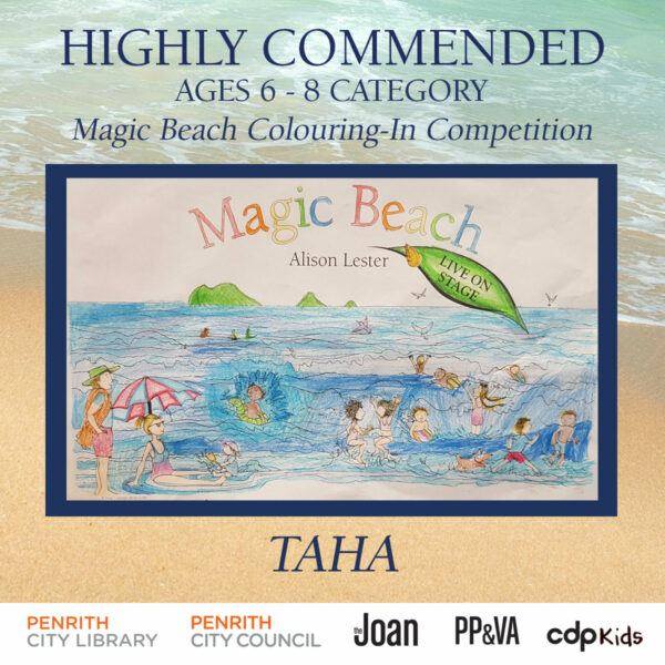 Magic Beach Colouring-In Competition - Taha