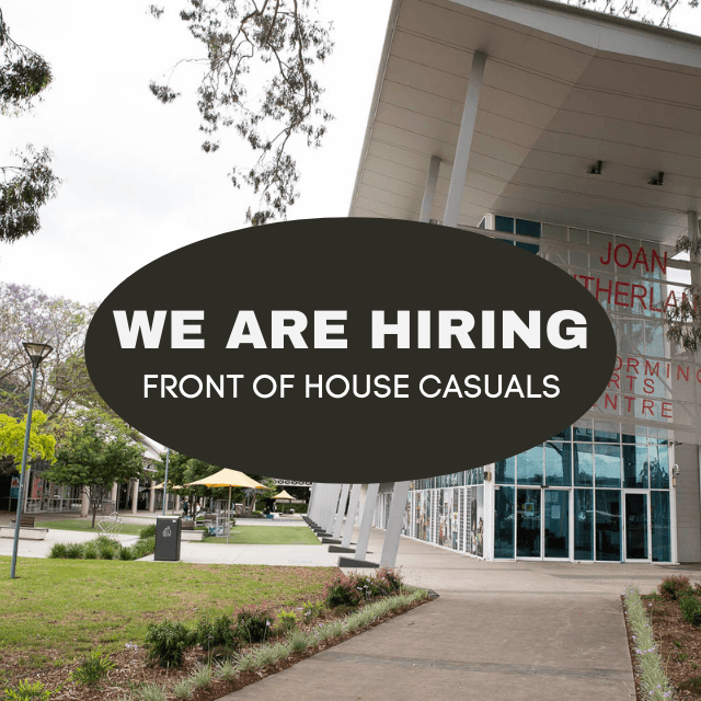 Front of House Casuals – Apply Now!