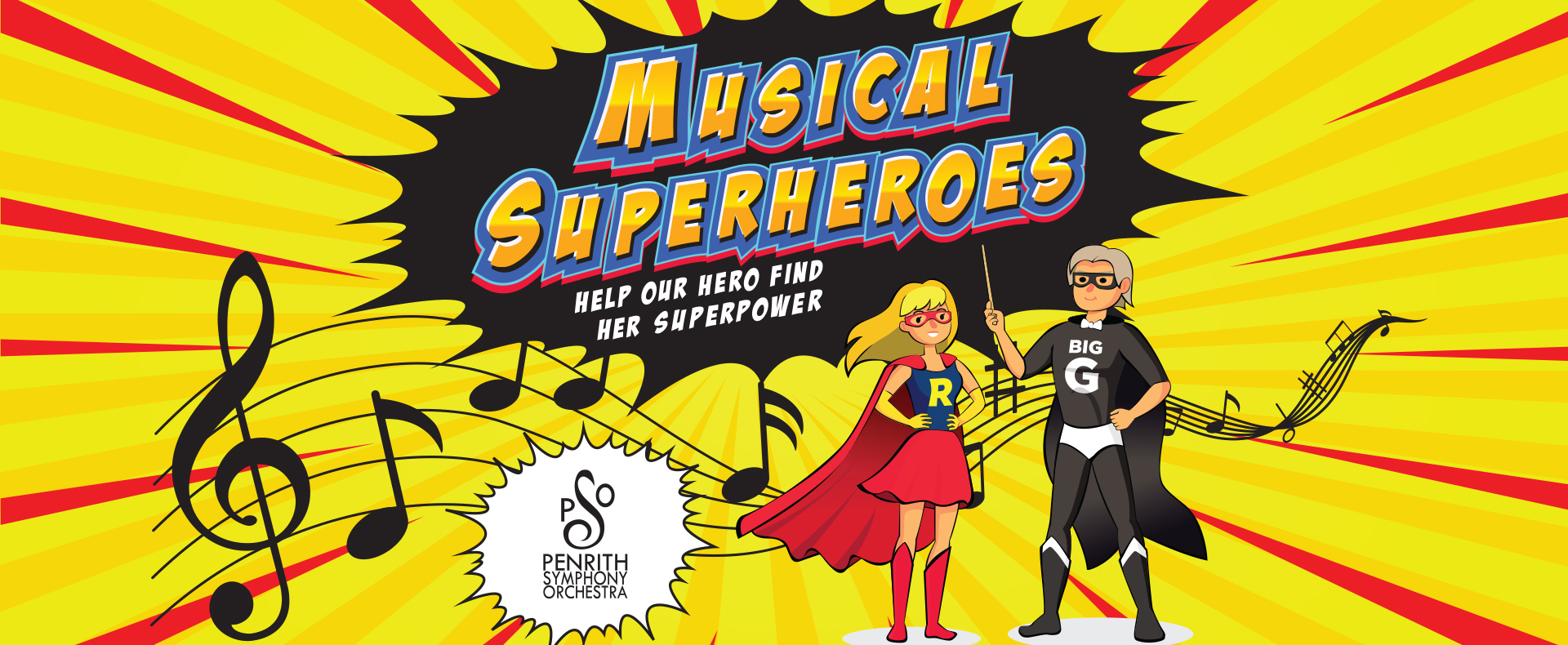 Pops for Tots – Musical Superheroes