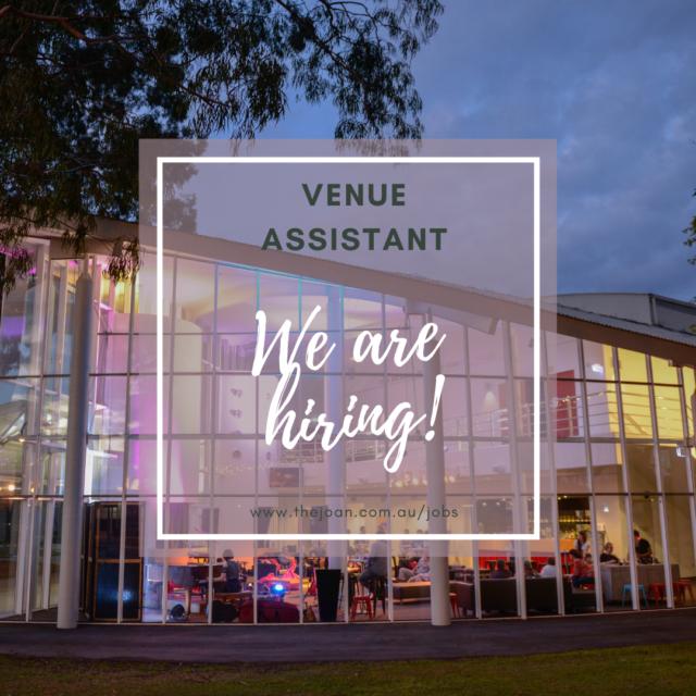 Venue Assistant – Apply Now!